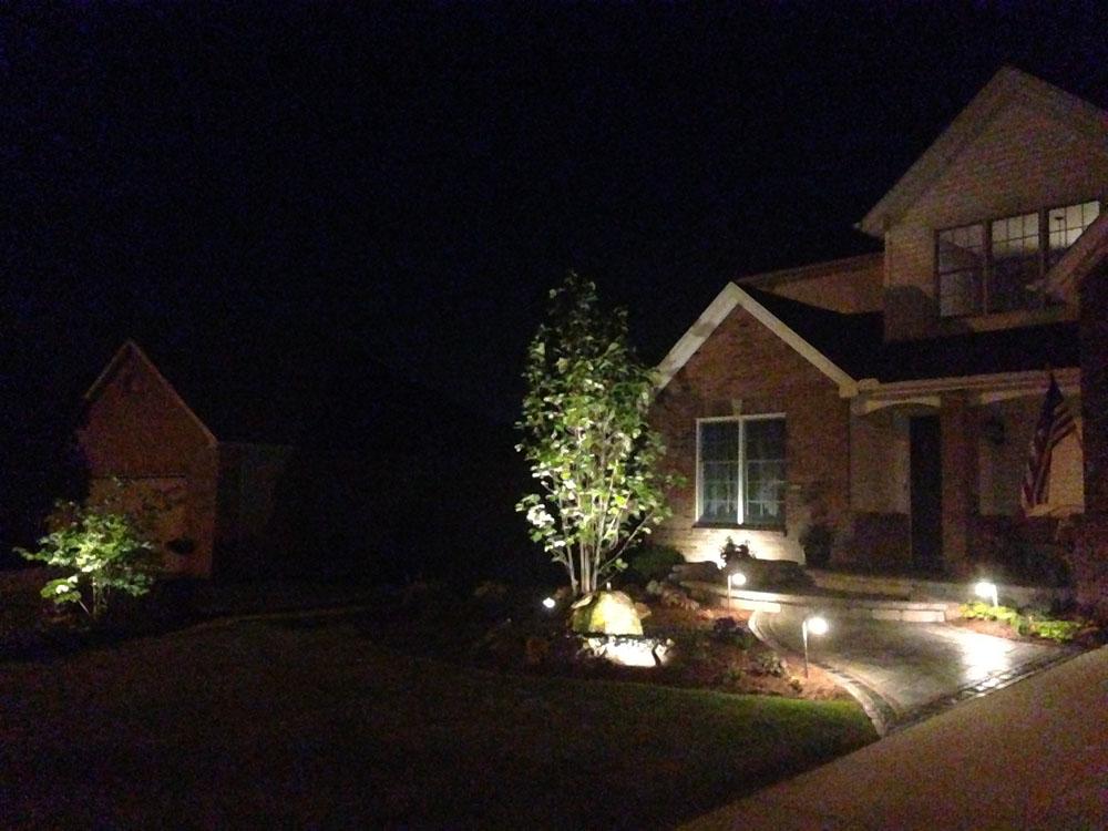 ... . & Landscape Lighting - Serenity Creek Design u0026 Landscaping ...