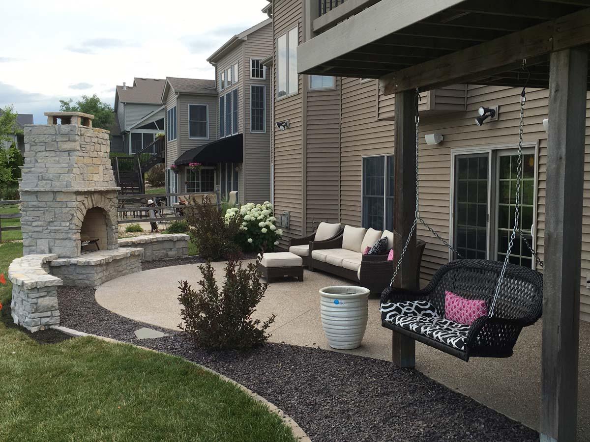 custom stone fireplace serenity creek design u0026 landscaping